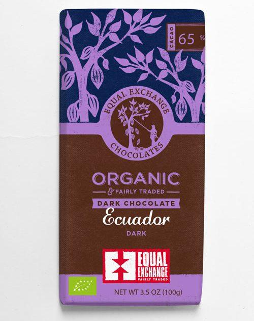 Organic Ecuador Dark Chocolate